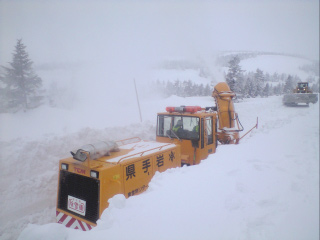 第2段階 雪版下げ